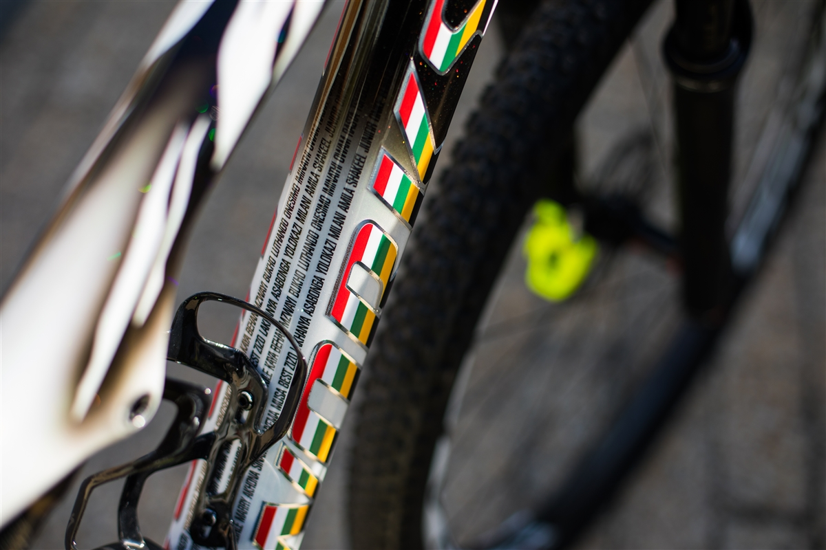 Specialized S-Works Epic FSR detalle cuadro