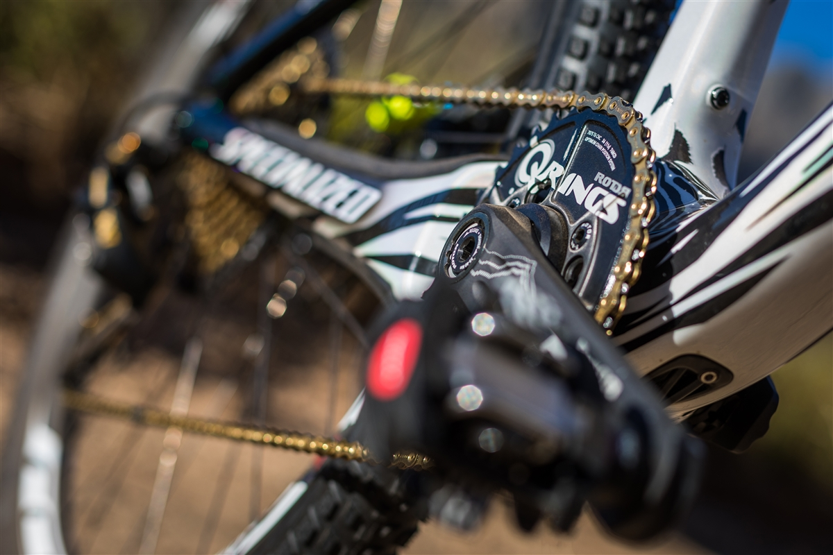 Specialized S-Works Epic FSR q rings
