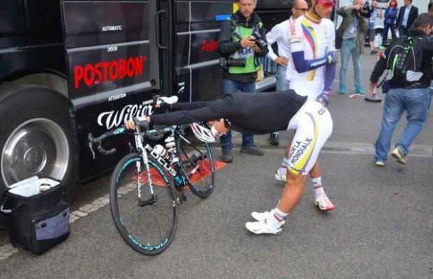 5 consejos para estirar como un ciclista profesional