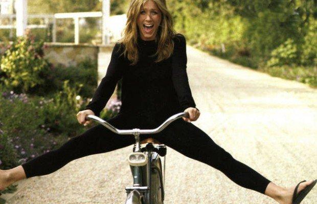 7 famosos enamorados de la bicicleta