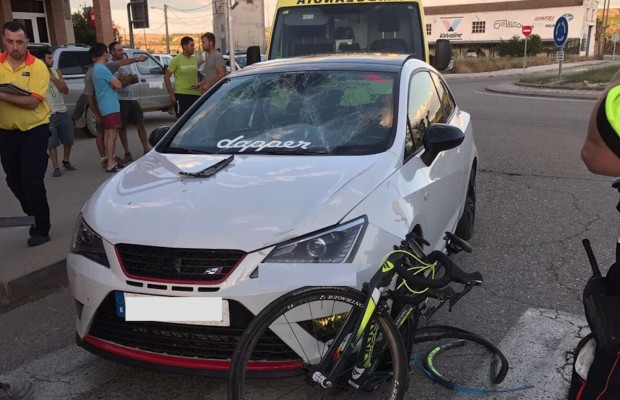 Ahora mismo veo un ciclista y me da miedo. Entrevistamos a Diego Tamayo tras sufrir un atropello por un conductor drogado