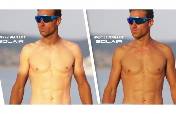 El maillot Ekoi Solair promete un bronceado uniforme con protección solar