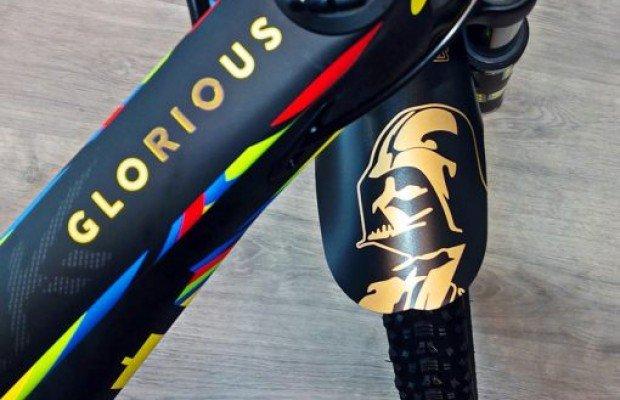 Guardabarros para mountain bike de Star Wars