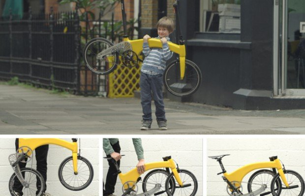 La bici plegable más ligera del mundo se llama Hummingbird
