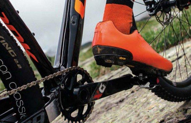 Los pedales X-Track de Look son los que más superficie ofrecen por menos peso