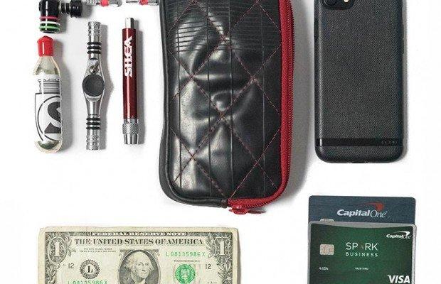 Nuevas mochilas y billeteras para ciclistas de Silca, hechas con neumáticos reciclados