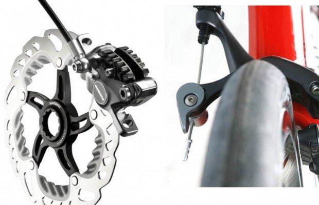 Pros y contras de los frenos de disco y los frenos de zapata