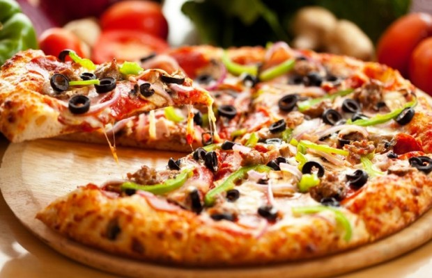 ¿Qué tipo de pizza es mejor para antes, durante y después de montar en bici?