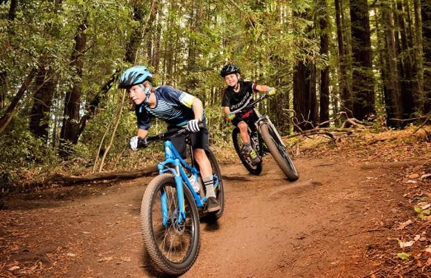 Hay unas cuantas razones por la que los jóvenes deberían practicar mountain bike