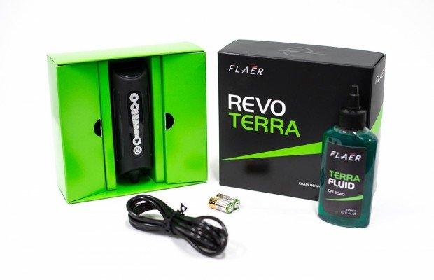 Revo Terra, un nuevo sistema para lubricar la cadena en marcha