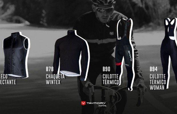 """""""Winter is coming"""" y Taymory presenta su nueva ropa ciclista para las estaciones más frías"""