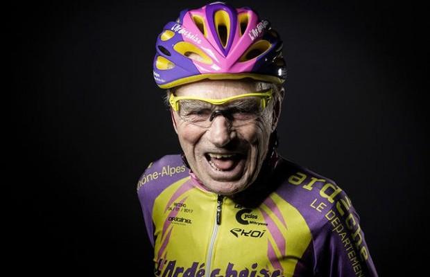 A sus 106 años el ciclista francés Robert Marchand se retira de la competición