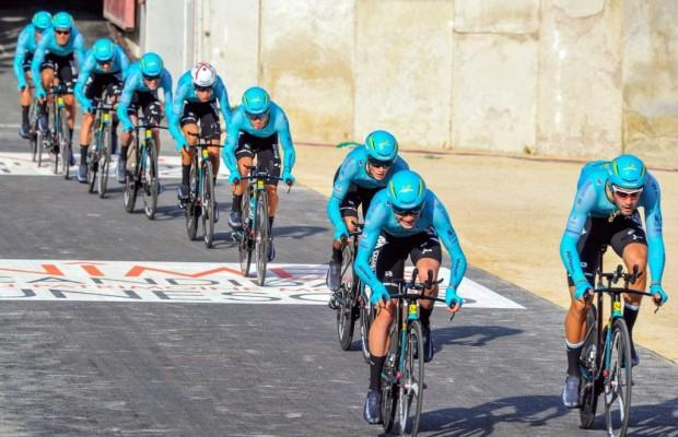 El equipo Astana se encuentra al borde de la desaparición