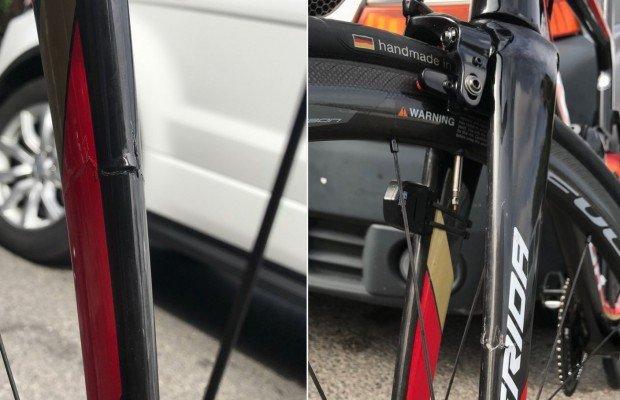 Las aerolíneas no aprenden. Ahora Iberia rompe una bici Merida de 10.000 € del ciclista profesional Ivan García