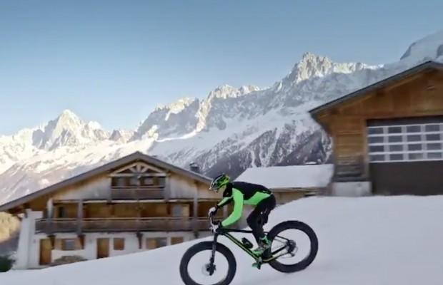 Maxime Marotte encuentra el flow rodando a 1924 metros por la nieve