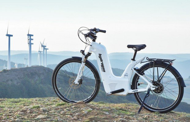 Nueva bicicleta eléctrica de hidrógeno