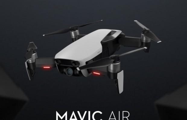 Nuevo DJI Mavic Air, el drone deportivo de referencia es más pequeño, plegable y graba en 4K