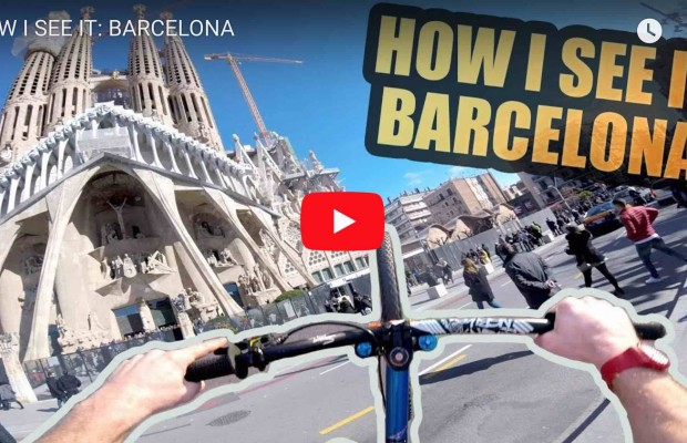 Sam Pilgrim nos muestra el lado más freeride de Barcelona