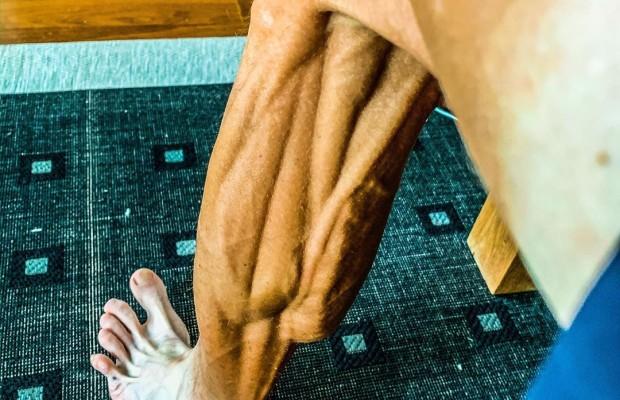 Las piernas de Janez Brajkovic en su vuelta a la competición