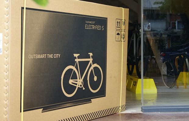 Disfrazar bicicletas de TV  para engañar a los transportistas