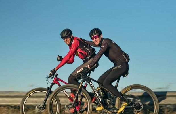 Zugasti comparte senderos con David Valero: ¿cuál ha sido tu pulso mínimo sobre la bici?