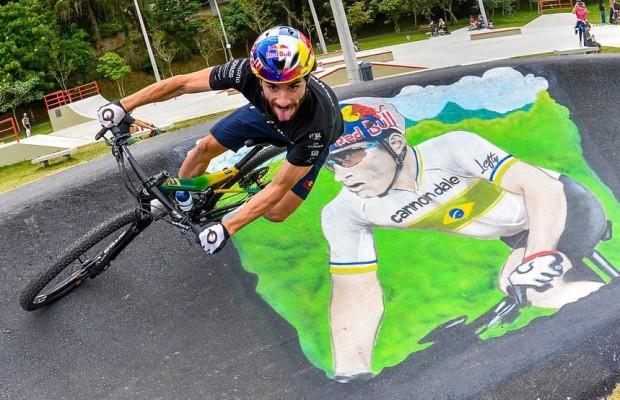 """Henrique Avancini inaugura su propio Pump Track """"Durante mucho tiempo intenté hacer un proyecto que pudiera llevar al público el deporte que tanto amo"""""""
