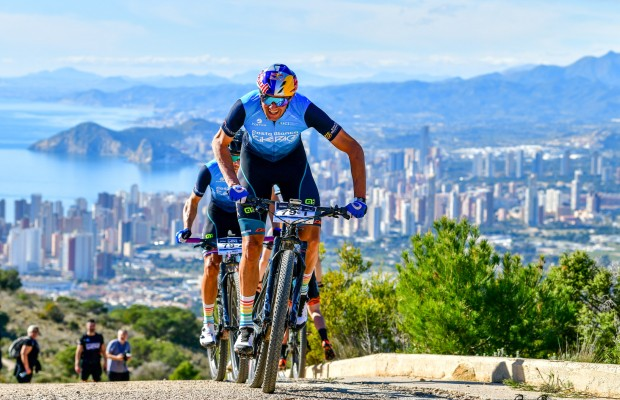Ferreira and Becking set the best time in the time trial of the Costa Blanca Bike Race 2020