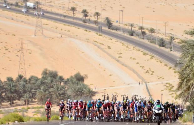 Se cancela el UAE Tour por el coronavirus y los ciclistas quedan retenidos a la espera de confirmar si están contagiados