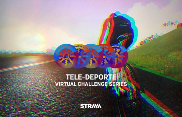 Por primera vez Strava activa 5 retos en 5 segmentos virtuales de Zwift