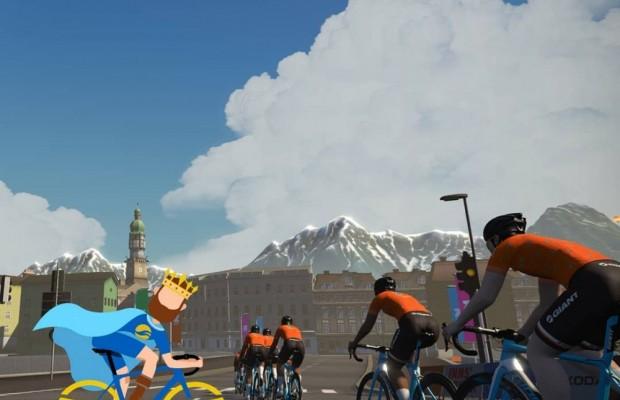 Cómo ganar una carrera en Zwift sin bici ni rodillo