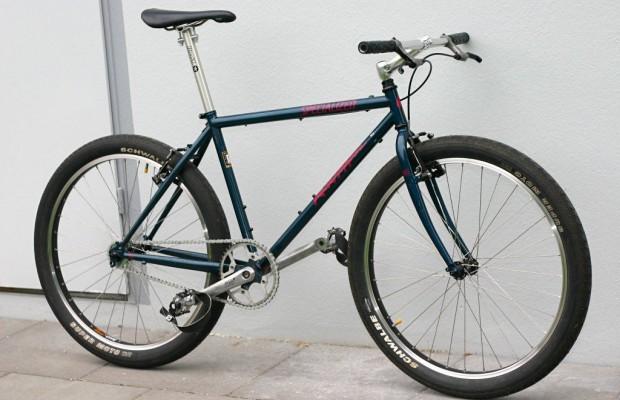 Convierte tu antigua MTB en una bici urbana