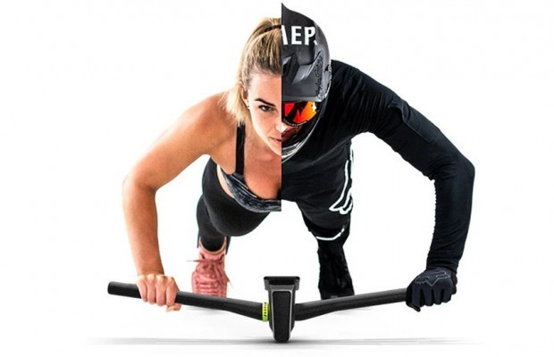 Praep Propilot, a handlebar designed for home training