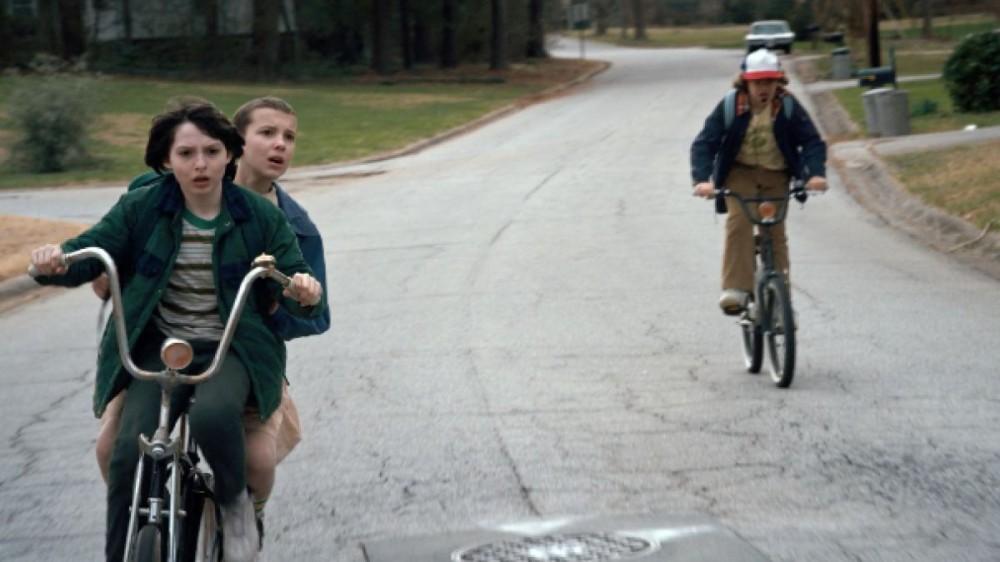 Bici de Stranger Things