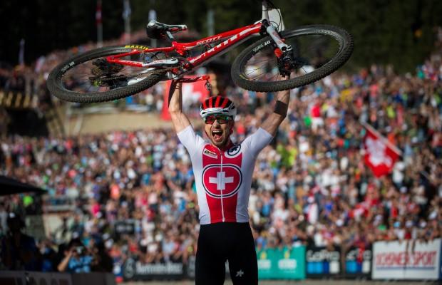 The 8 times Nino Schurter won the World Championship