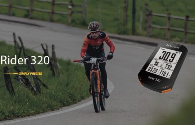 Nuevo Bryton Rider 320, un GPS sencillo, potente y muy preciso por menos de 100€