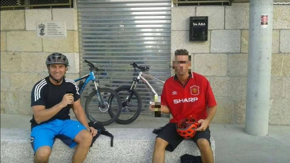 ciclista, trampa