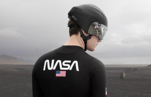 Scicon Sports presenta una equipación ciclista inspirada en los trajes aeroespaciales de la NASA