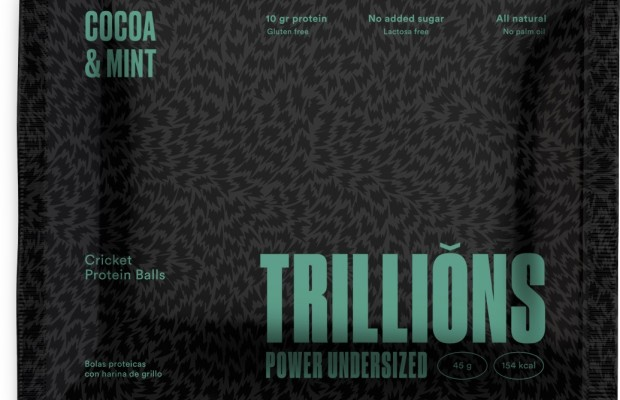 Trillions, the cricket flour energy bars