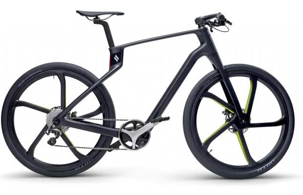 Superstrata Terra, la bici de carbono impresa en una sola pieza