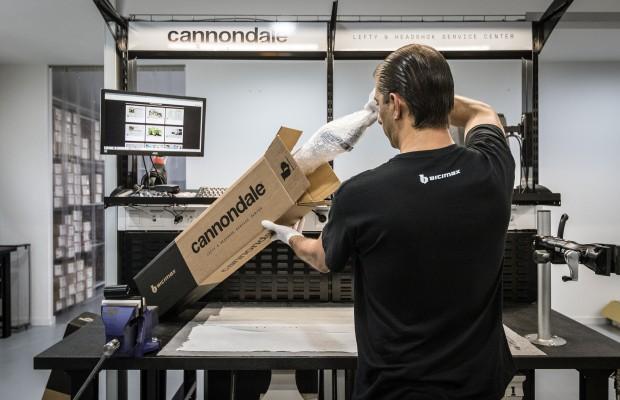 Cannondale derriba un punto débil ampliando su red de servicios técnicos Lefty y Headshok