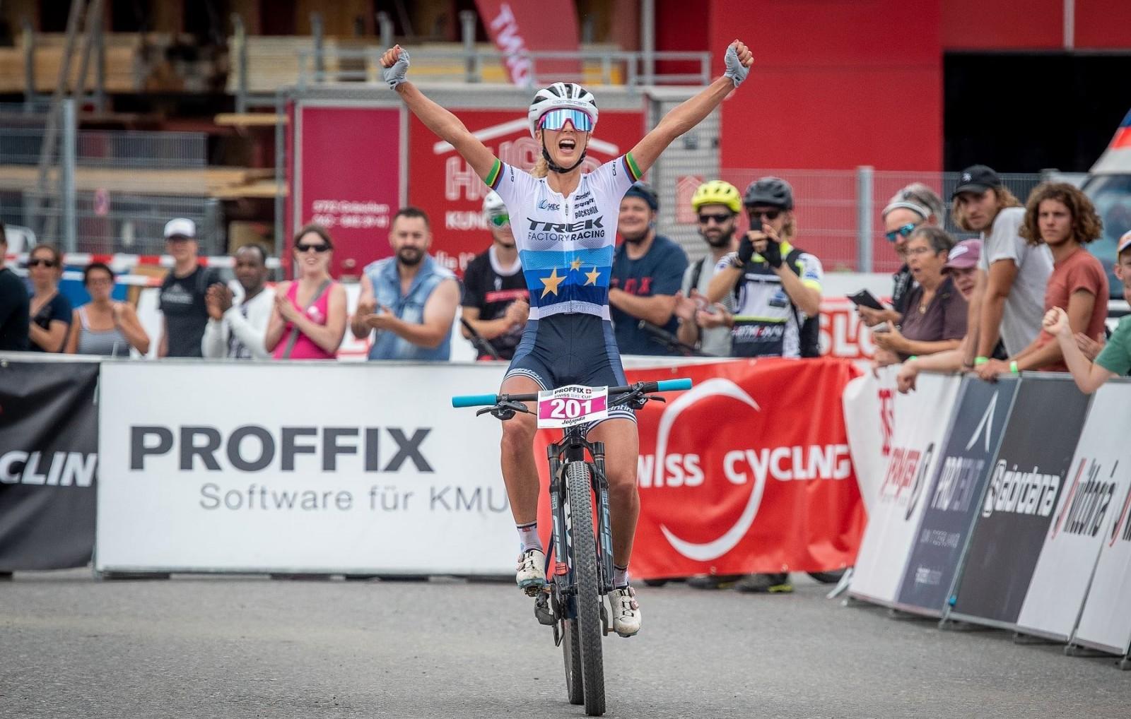 Jolanda Neff Swiss National Champion