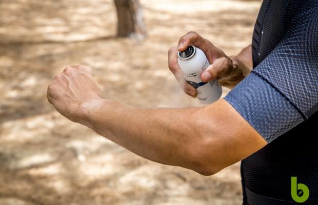 Crema solar Tunap Sports, pensada para ciclistas