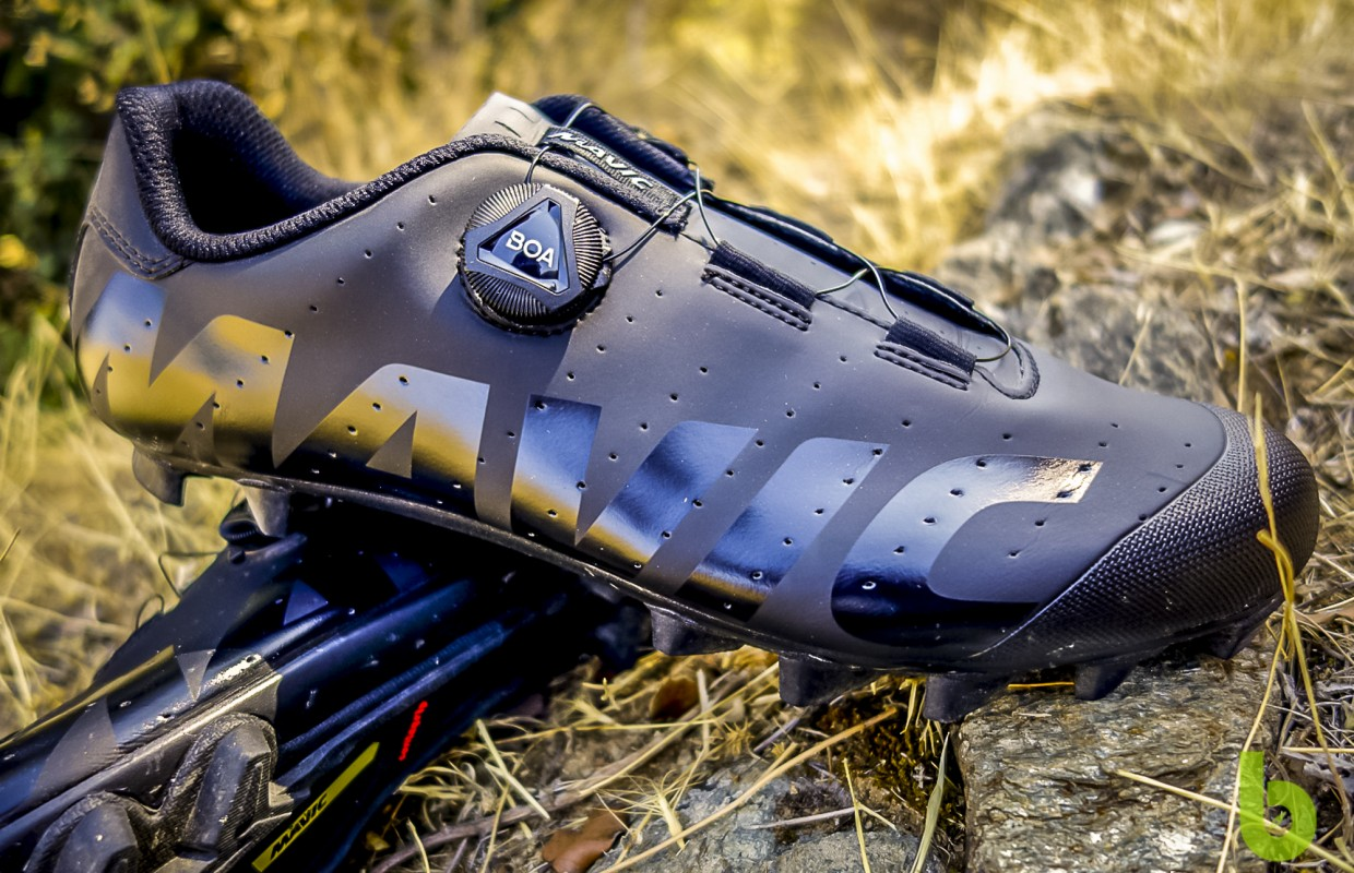 We tested the Mavic Crossmax BOA cycling shoes: elegant, comfortable and efficient