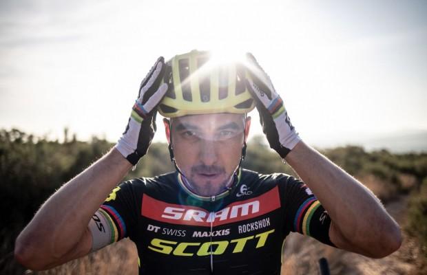 Scott Centric 2021: el nuevo casco de Nino Schurter
