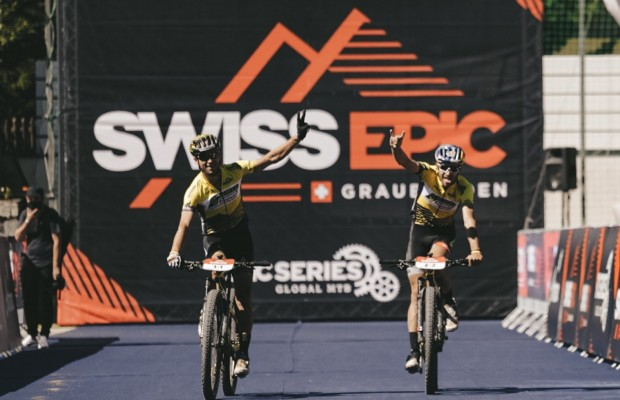 Stage 3 of the Swiss Epic: Trek Pirelli makes life difficult for Scott SRAM, but Schurter and Forster win again