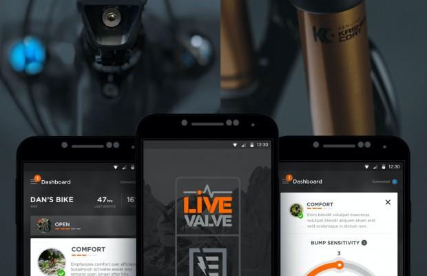 Controla tu suspensión desde el smartphone con la app de Fox E-Live Valve