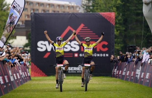 Nino Schurter and Lars Forster win the Swiss Epic 2020