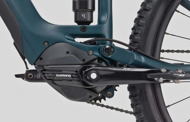 Nuevo motor Shimano EP8 para eMTB