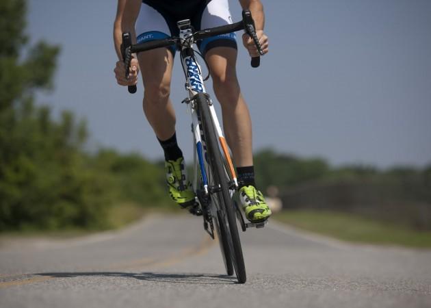 entrenar, mountain bike