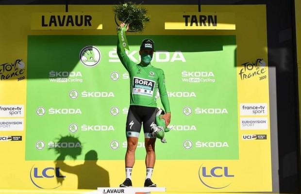 """Peter Sagan frustrado tras las séptima etapa del Tour: """"¡Jodido ciclismo!"""""""